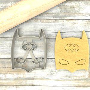 MASCHERA DI BATMAN Formina taglierina per biscotti | BATMAN MASK Cookie Cutter