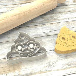 Cacchina Emoji Formina taglierina per biscotti | Poop Emoji Cookie Cutter