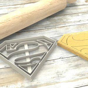 Superman Formina taglierina per biscotti | Superman Cookie Cutter