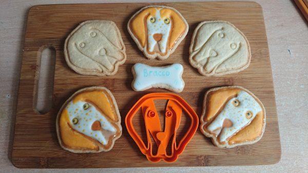 Bracco Italiano cookie cutters