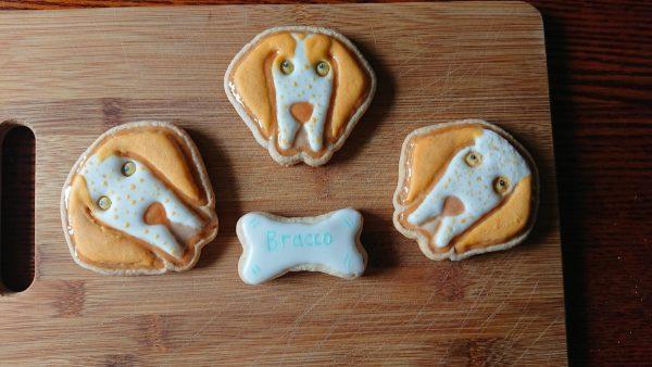 Bracco Italiano formine per biscotti animali cani dogs