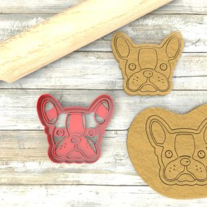 Bulldog Francese cookie cutter