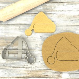 Cappello Babbo Natale formina biscotti Cookie Cutter