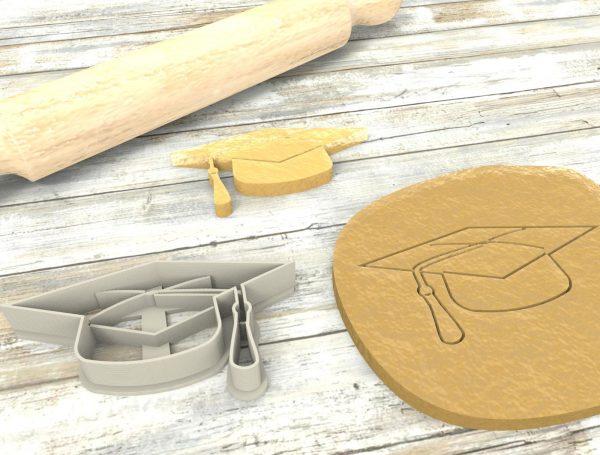 Cappello Laurea formina biscotti Cookie Cutter