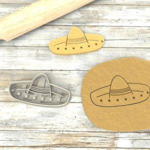 Sombrero Messicano formina biscotti Cookie Cutter