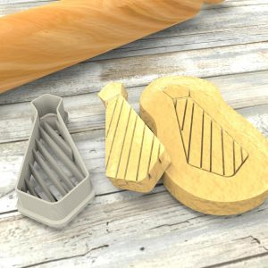 Cravatta formina biscotti | Necktie Cookie Cutter