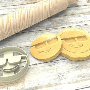 Faccina Emoji Formina taglierina per biscotti | Emoji Cookie Cutter