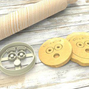 Faccina Emoji Ohh Formina taglierina per biscotti   Emoji Cookie Cutter