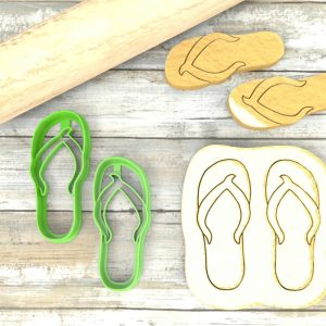Infradito Flip-Flop Formina taglierina per biscotti | Flip-flop Cookie Cutter