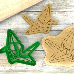 Origami Gru Stampini per biscotti