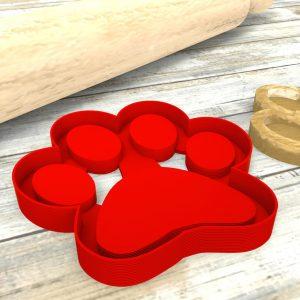 Impronta di cane stampi per biscotti