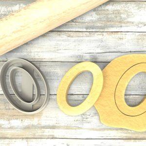 Numero 0 formina taglierina per biscotti |Number 0 Cookie Cutter