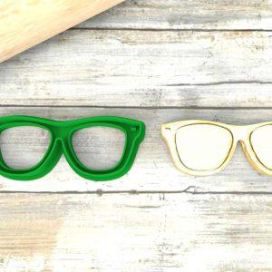 Occhiali taglierina per biscotti formina | Glasses Cookie Cutter