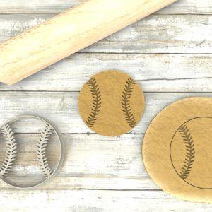 Palla Baseball Cookie Cutter Stampi per biscotti