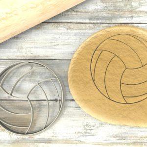 Pallone Pallavolo Cookie Cutter Volley Stampi per biscotti