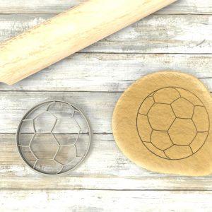 Pallone Calcio Cookie Cutter Soccer Stampi biscotti