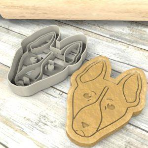 Basenji Cane del Congo cookie cutter