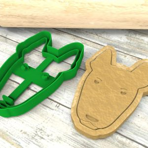 Bull Terrier Cookie Cutter
