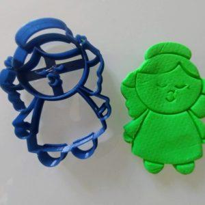 Angioletto femminuccia tagliapasta per biscotti