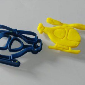 Stampi biscotti elicottero