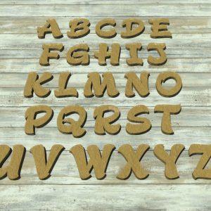 Lettere alfabeto formine per biscotti
