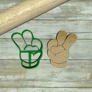 Mickey Mouse numero 2 – mano di Topolino per biscotti