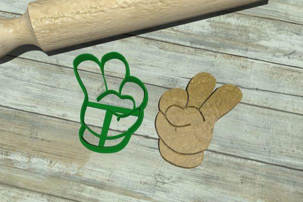 Mickey Mouse numero 2 - mano di Topolino per biscotti