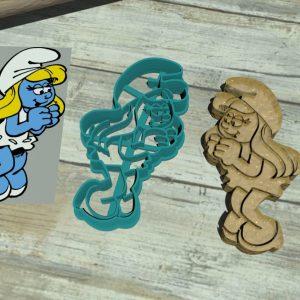 Puffetta – Smurfette – The Smurfs cookie cutters