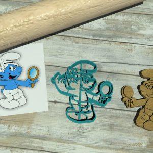 Puffo Vanitoso tagliapasta Puffi – The Smurfs