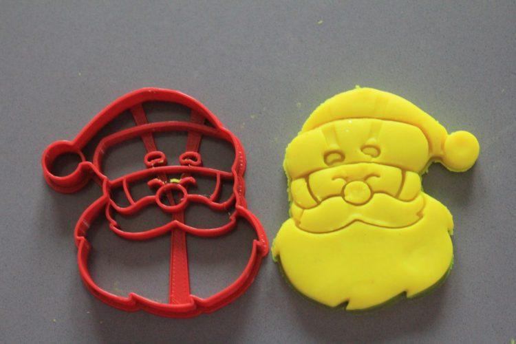 Babbo Natale formine per biscotti