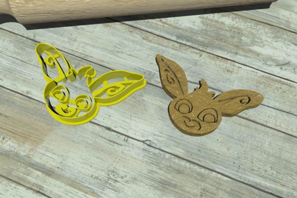 Toon cookie cutters bing