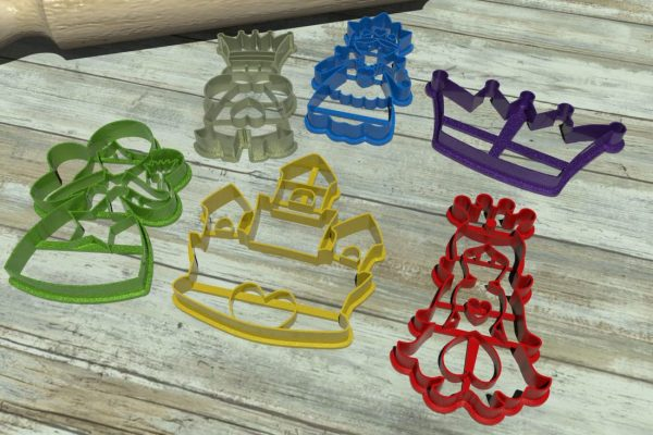 fantasy cookie cutters