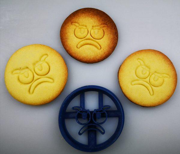Formine biscotti faccine