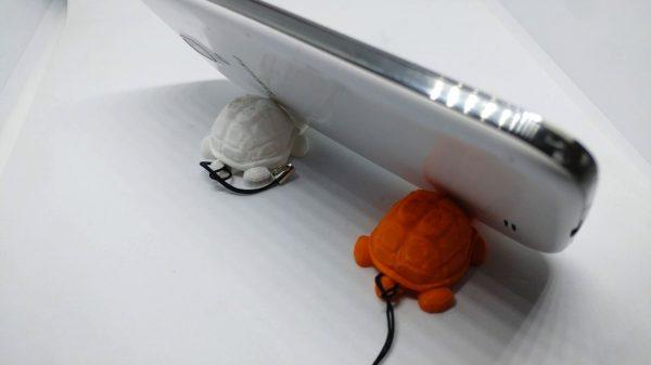 Portachiavi tartaruga per cellulare