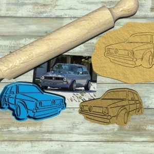 Golf GTI Cookie cutter