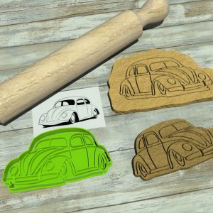 VW Beetle cookie cutter
