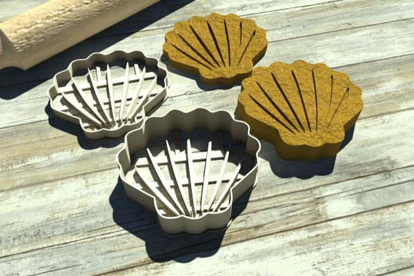 Conchiglia formina Seashell cutter