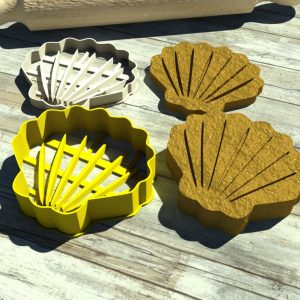 Conchiglia formina Seashell cutter