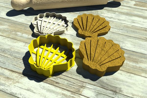 cookie cutters seashell