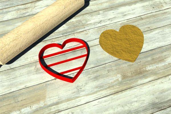 heart cookie cutters 3dsmart