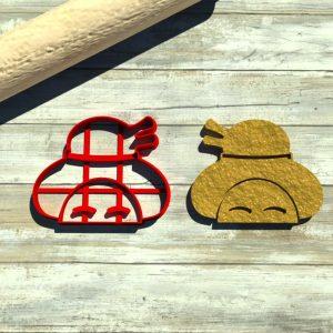 Hane Design Maiko cookie cutter