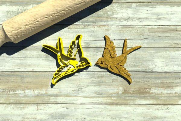 Rondine formina biscotti swallow