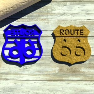 Route 66 cookie cutter