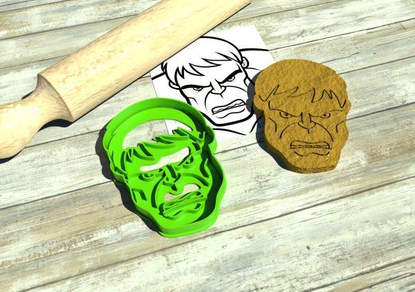 Formine biscotti Avengers Hulk