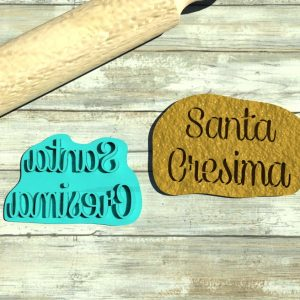 Santa Cresima formina biscotti
