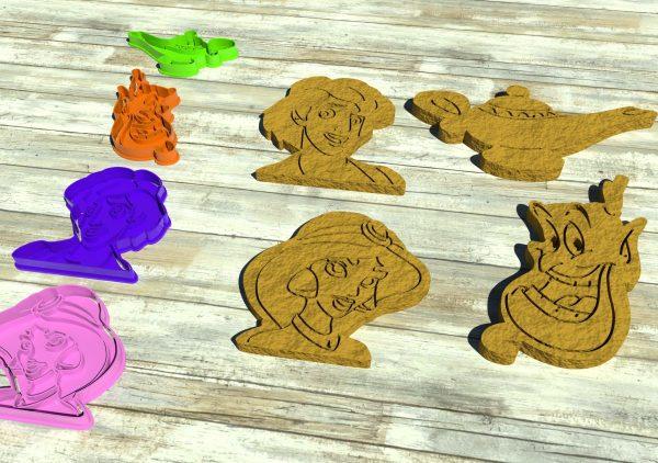 Genio della Lampada tagliapasta biscotti