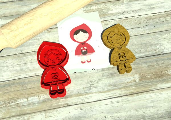 Little Red Riding Hood cookie cutters
