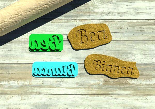 Formine biscotti nome personalizzato