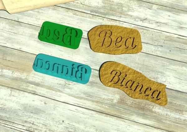 biscotti personalizzati formine
