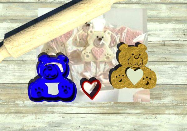 Orsacchiotto taglia biscotti